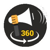 Icono Comunicación 360º