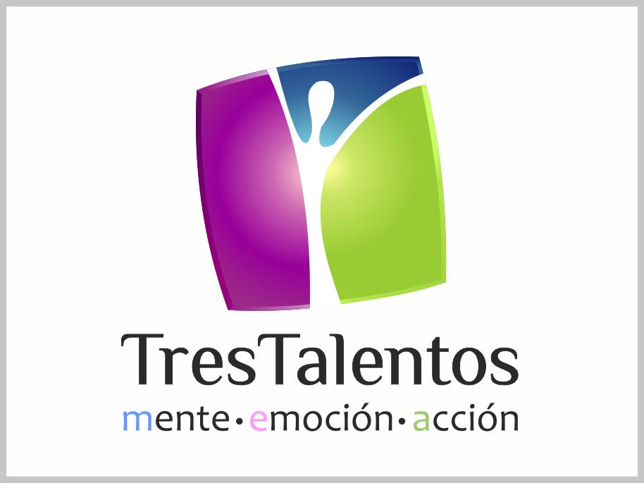 Logotipo Tres Talentos_design