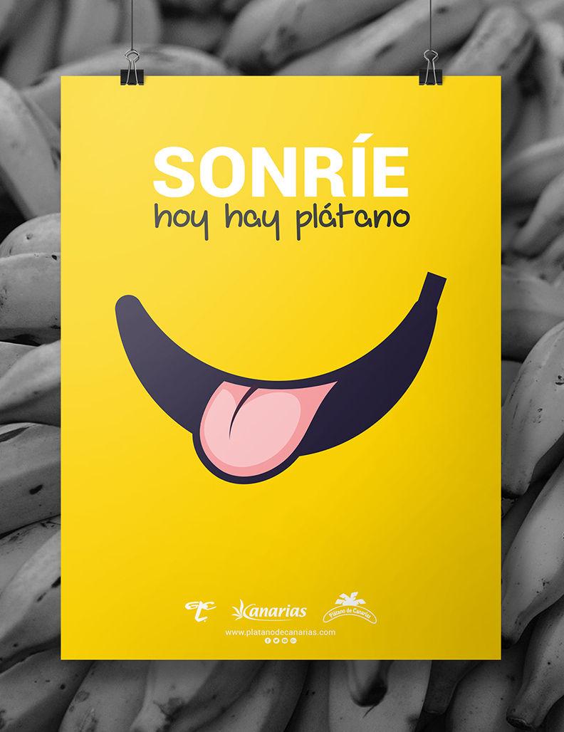 Cartel Plátano de Canarias