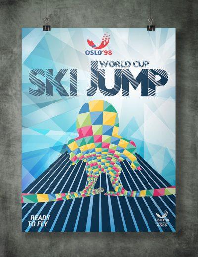 Cartel Salto de Ski